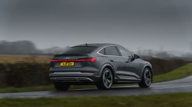 Audi e-tron S Sportback - rear cornering