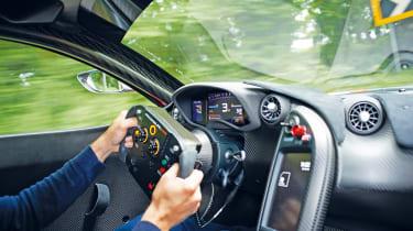 McLaren P1 GTR - driving