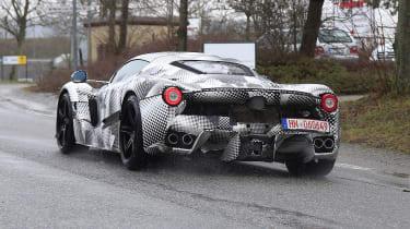 2021 Ferrari hybrid hypercar prototype - rear