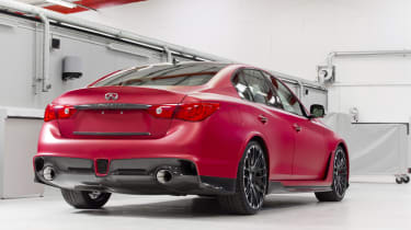 Infiniti Q50 Eau Rouge news and pictures