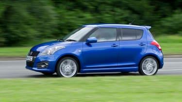 five-door Suzuki Swift Sport on sale in the UK