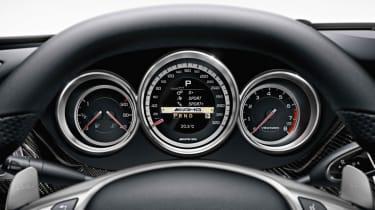 Mercedes CLS 63 AMG instruments