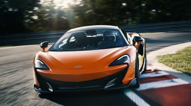McLaren 600LT first drive - nose