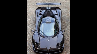 Pagani Zonda 760RS - front top