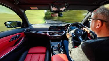 BMW M340i Touring – dash
