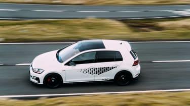 VW GTI TCR vs Megane RS Trophy - top