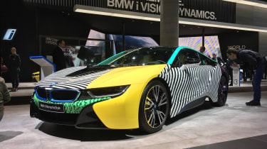 BMW i8 art car - Frankfurt motor show