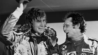 British F1's greatest moments - James hunt