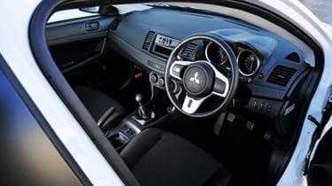 Mitsubishi Lancer Evolution X interior