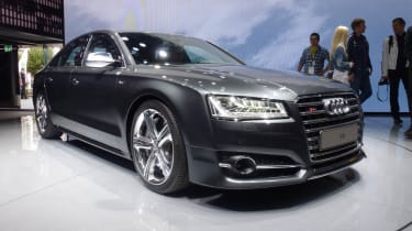 Audi S8 Frankfurt motor show front