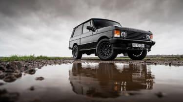 Bishops Heritage Range Rover – low static