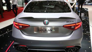 Alfa Romeo Giulia QV NRING - rear