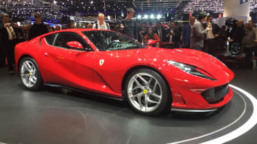 Ferrari 812 Superfast - Geneva front three quarter