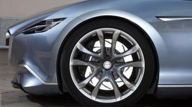 Mazda Shinari concept car at Milan wheel