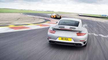 Sub-supercar group test - 911TS