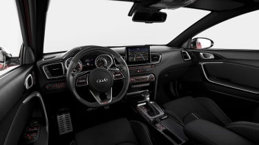 Kia Proceed - interior