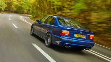 BMW E39 M5 rear