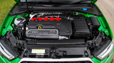Audi RS3 saloon – engine