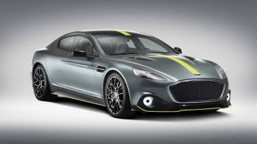 Aston Martin Rapide AMR studio - front quarter