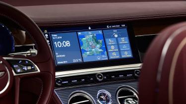 Bentley continental GT Convertible - screen