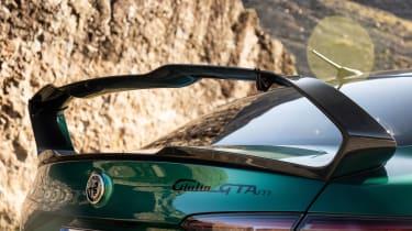 Alfa Romeo Giulia GTAm – rear wing 2