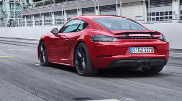 718 Boxster and Cayman GTS - rear