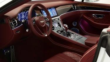 Bentley continental GT Convertible - interior