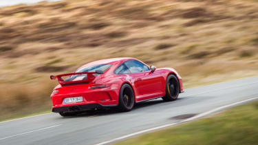 Porsche 911 GT3 991.2 – rear quarter