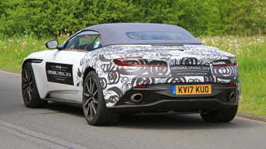 SPY - Aston Martin DB11 Volante rear5