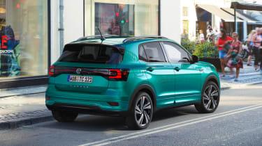 Volkswagen T-Cross revealed - rear quarter