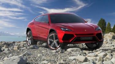 Lamborghini Urus SUV front