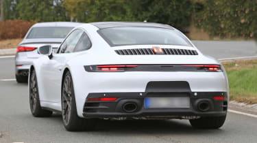 992 Porsche 911 spied - rear