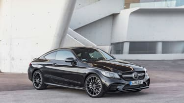 Mercedes-AMG C43 Coupe - front quarter