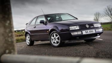 Volkswagen Corrado VR6 front three quarters