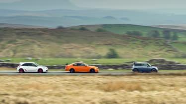 Megane R26.R vs M3 GTS vs Cooper S Works GP
