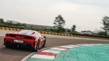 Ferrari 488 Pista – rear