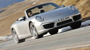 Best convertible cars: Porsche 911 Cabriolet