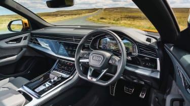 Audi Q8 Vorsprung – interior