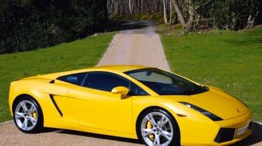 Lamborghini Gallardo - side profile