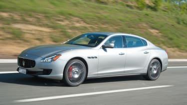 2013 Maserati Quattroporte S V6 side profile