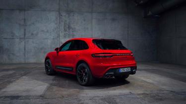 2021 Porsche Macan GTS – rear 3/4