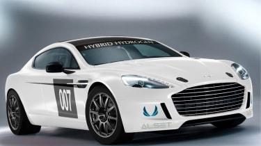 Aston Martin Rapide S Hybrid Hydrogen racing car
