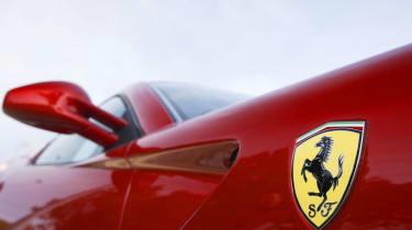 Ferrari 599 HGTE mirror