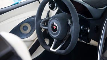 Mclaren 570S Spider steering wheel
