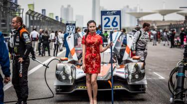 FIA WEC Shanghai Chinese grid girl
