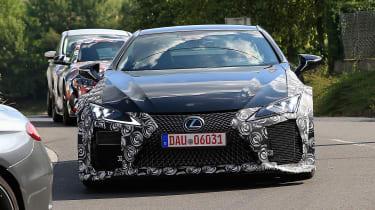 Lexus LC F prototype - nose