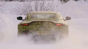 Aston Martin Vantage – rear