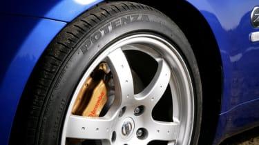 Nissan 350Z Roadster wheel