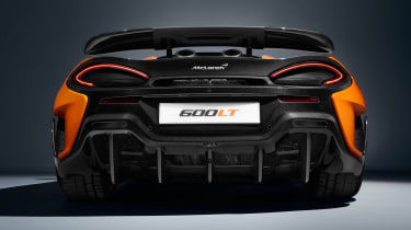 McLaren 600LT full specs - tail