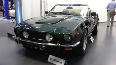 Aston Martin Works auction - V8 Vantage Volante